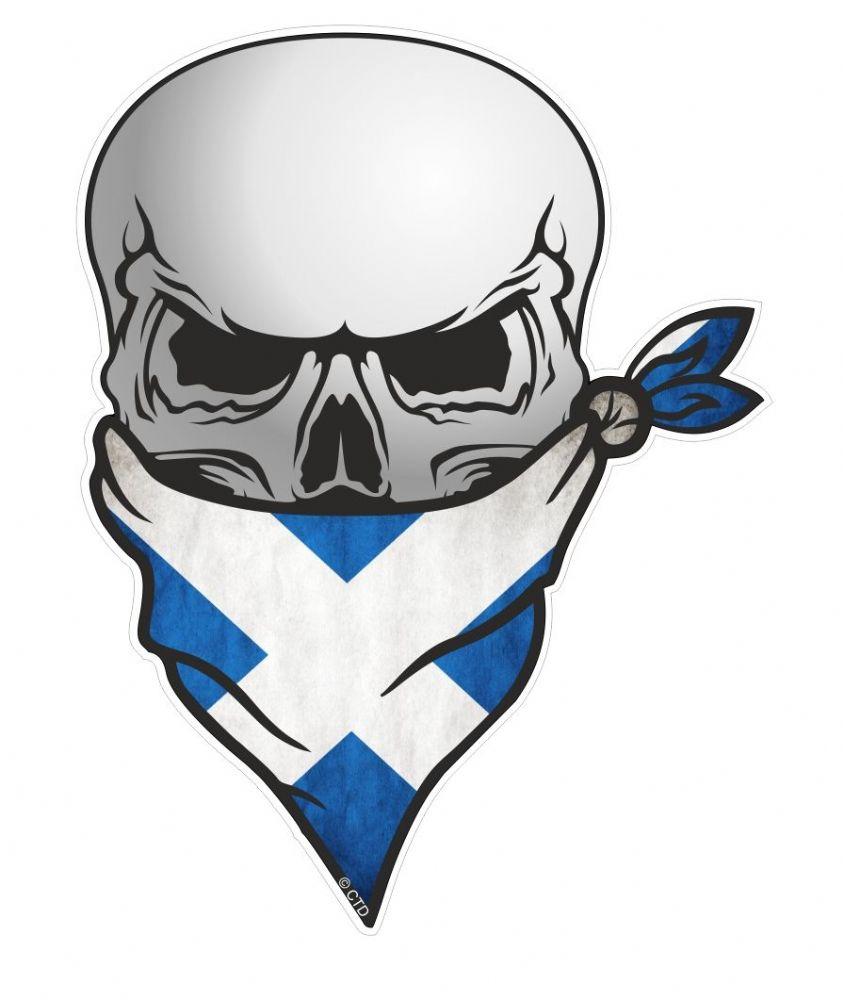 Gothic Biker Pirate Skull With Face Bandana Amp Scotland